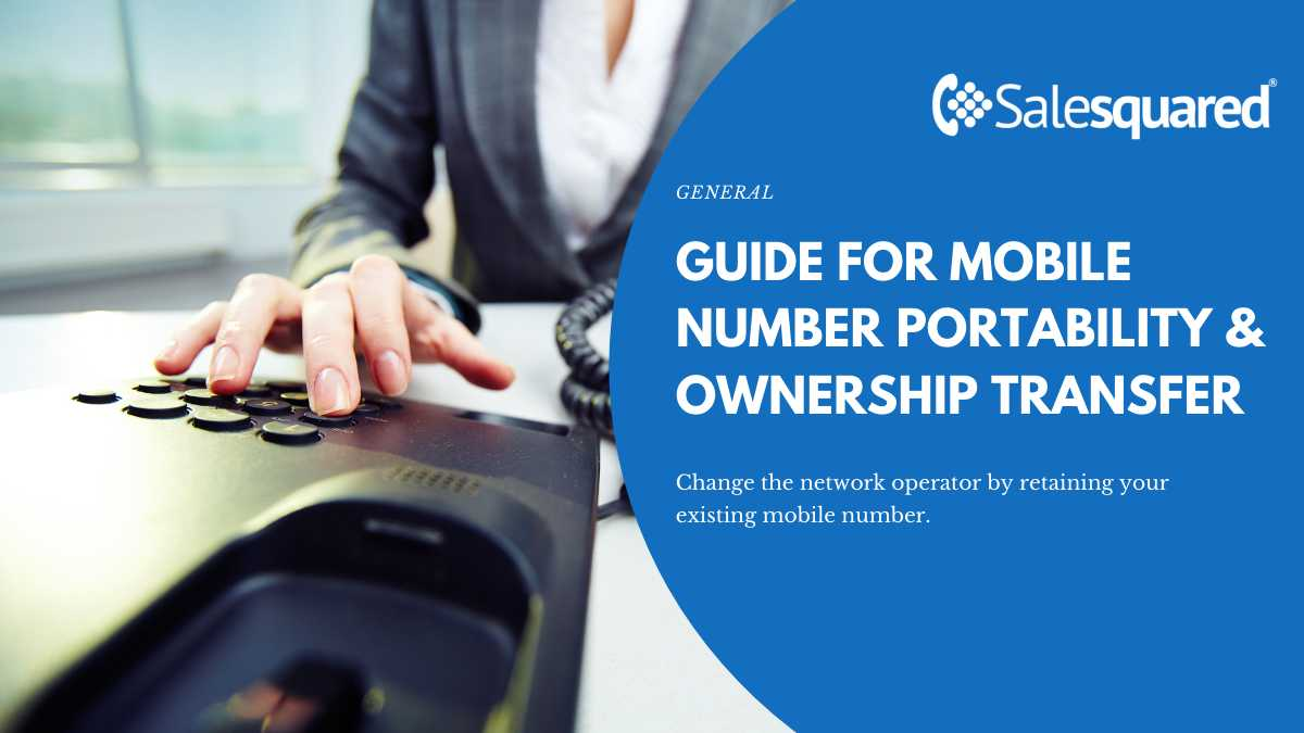Mobile Number Portability Probability and Ownership Transfer5